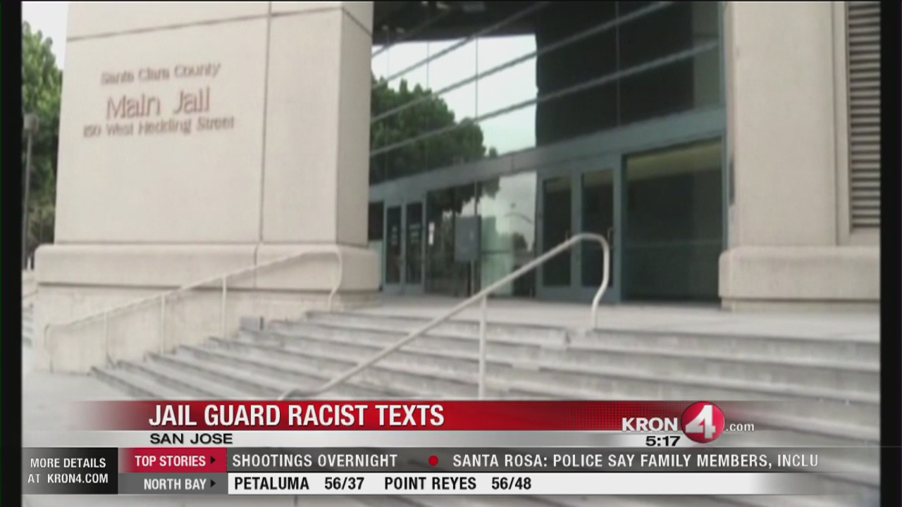 12 Santa Clara County jail guards probed for racist texts