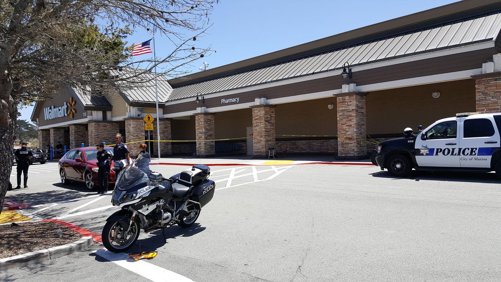 Pregnant woman dies after Wal-Mart parking lot crash