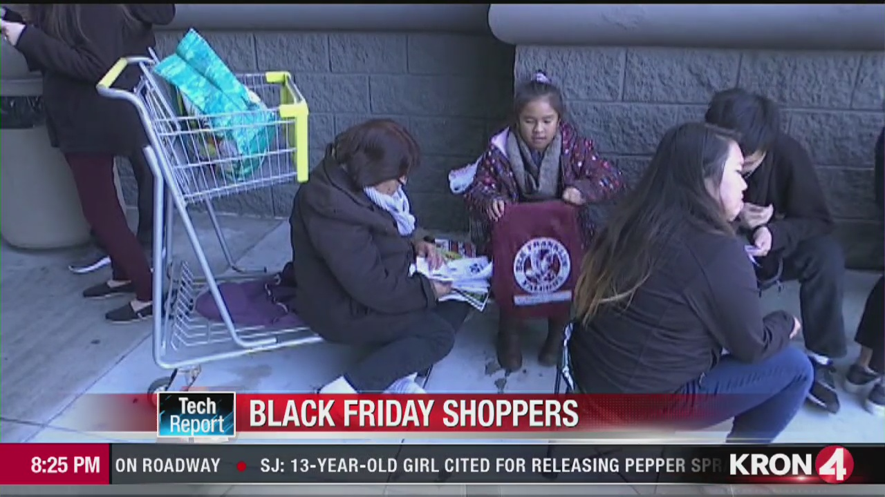 Tech Report Black Friday Shoppers