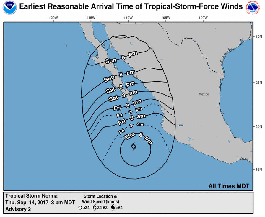 tropical storm norma_631489
