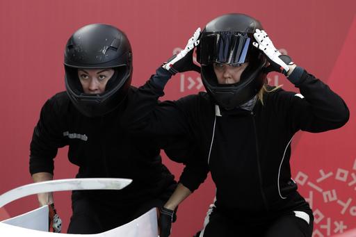 Pyeongchang Olympics Bobsleigh Women_728600