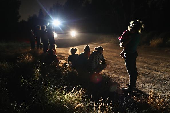 Border Patrol Agents Detain Migrants Near US-Mexico Border 10