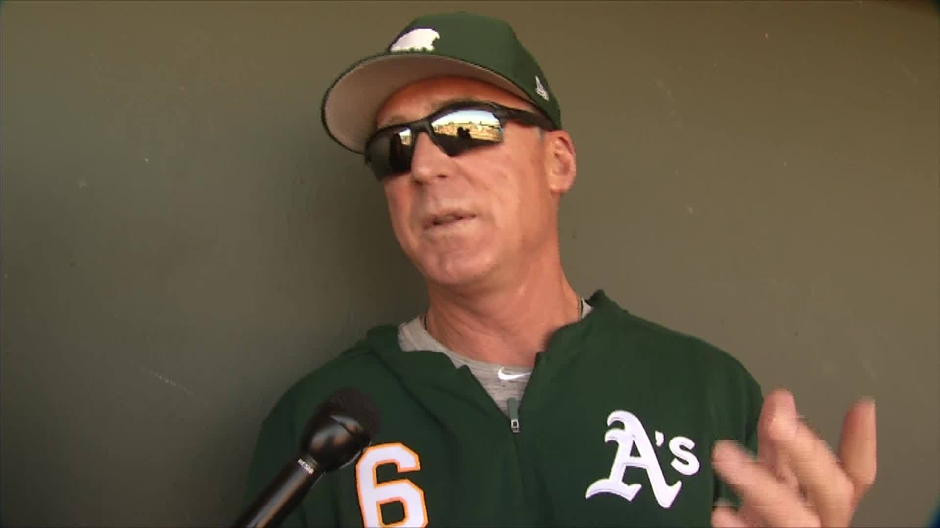 A's Bob Melvin on Manager of the Year award