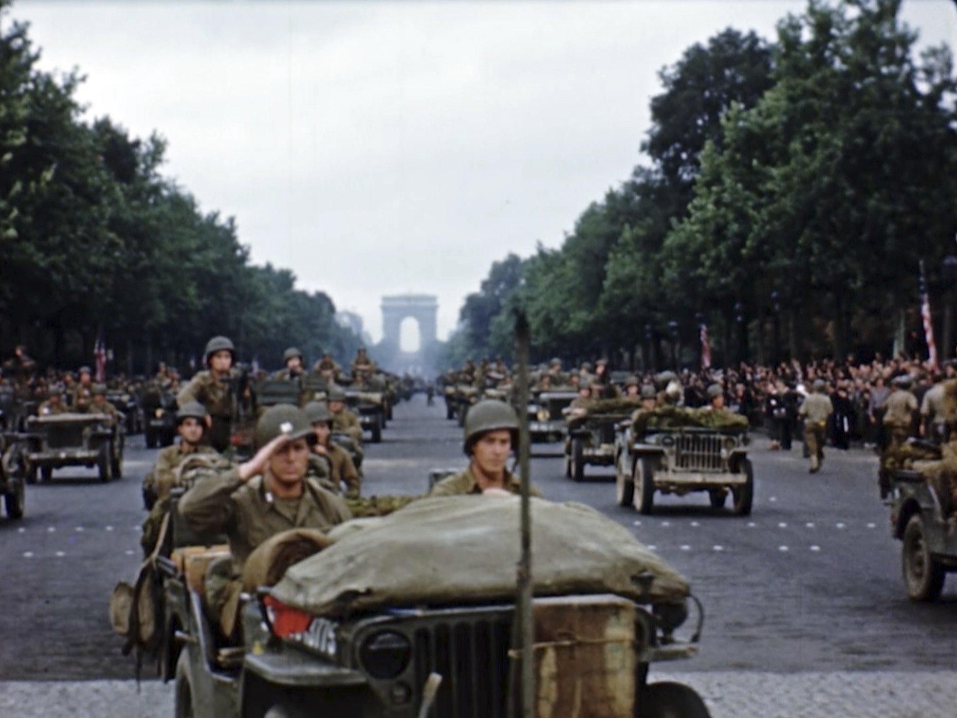 Photos: Rare color footage brings D-Day memories alive