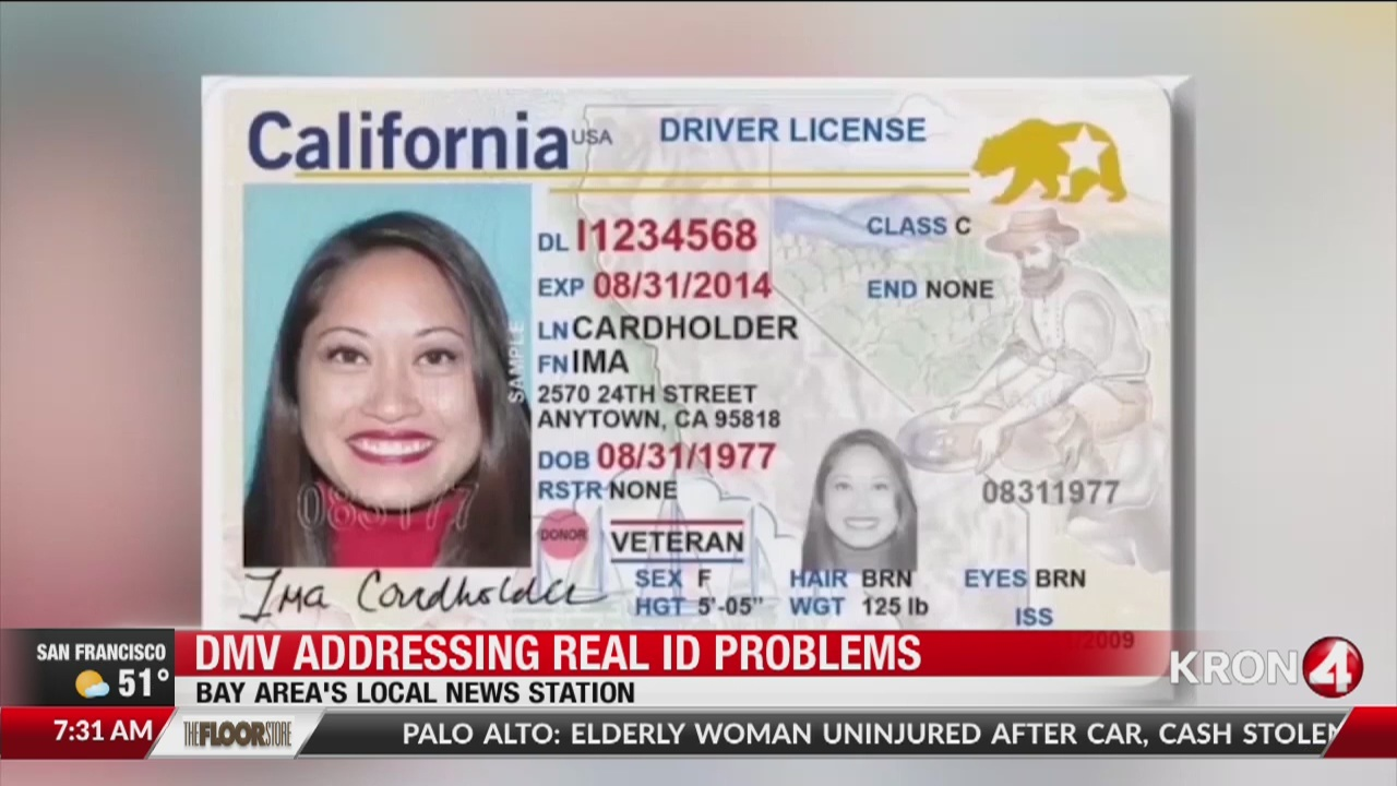 DMV addressing REAL ID problem