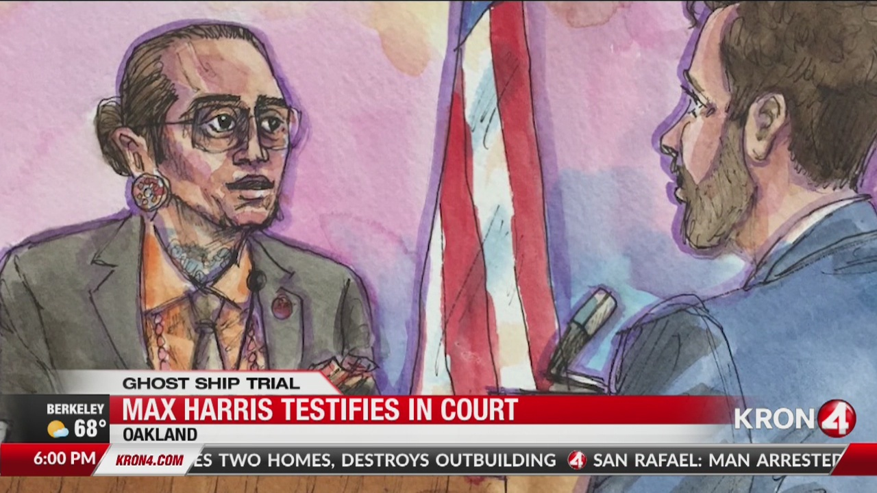 Ghost Ship Trial: Max Harris testifies in court