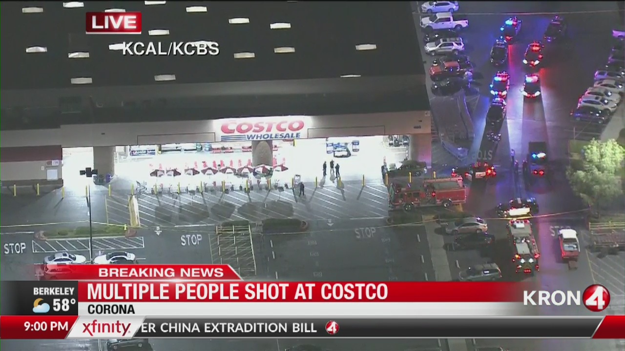Reports: Police responding to shooting at Southern California Costco
