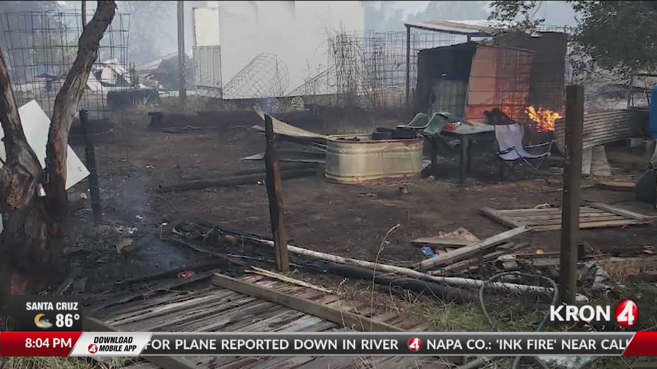 Sand Fire in Yolo County grows to 2,220 acres