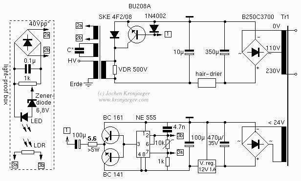 Jochen's High Voltage Page : Flybacks