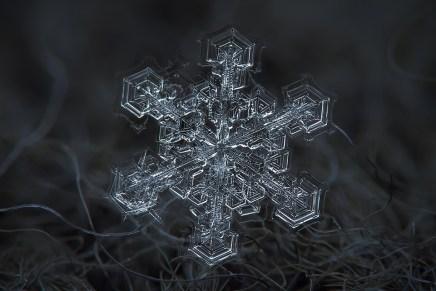Dit is een sneeuwvlok. Echt.