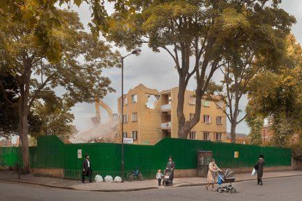 Dorley-Brown fotografeert afbraak en opbouw op straat