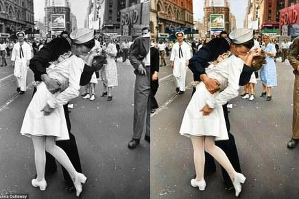Sanna Dullaway: over oude zwart-wit foto's inkleuren
