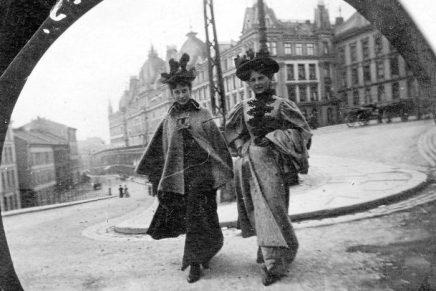 Straatfotografie uit 1890 (toen het nog niet eens bestond)
