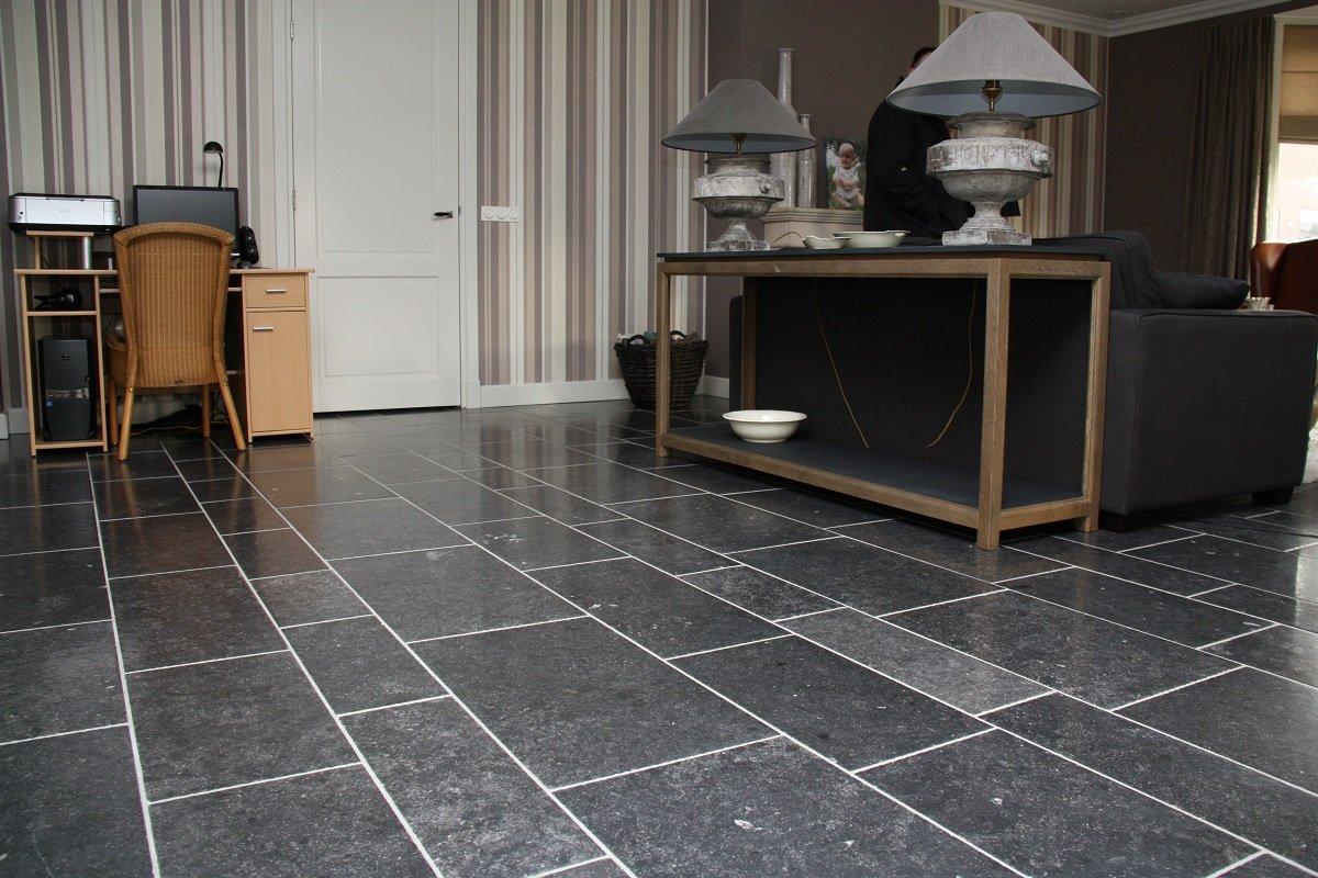 Hardsteen tegels  hardstenen vloer bij KROON Vloeren