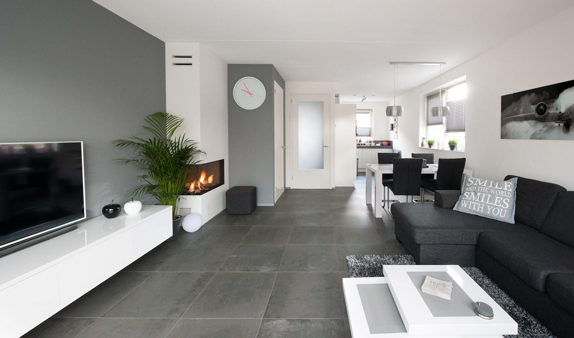 Vloertegels woonkamer  KROON vloeren in Steen