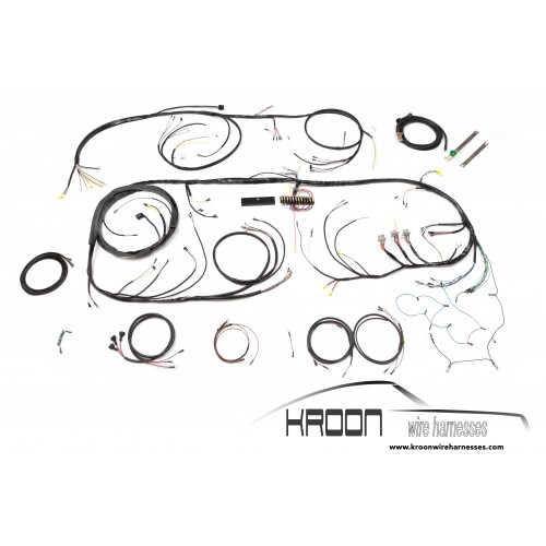 Complete harness set for right hand drive 912 1965 (washer