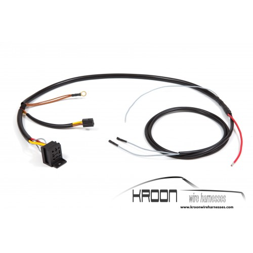 Wire harness headlight washer system (fits LHD and RHD cars)