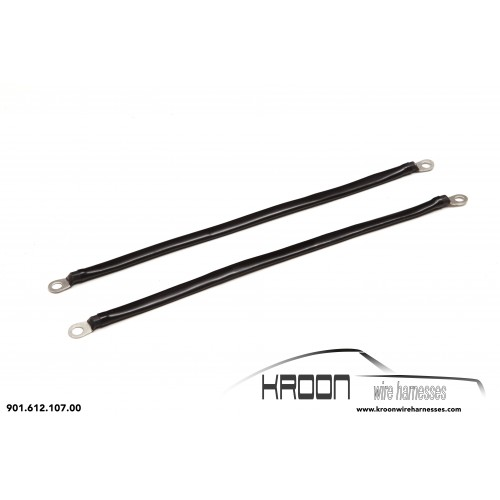 Ground strap for bonnet mounting parts for Porsche 911 and