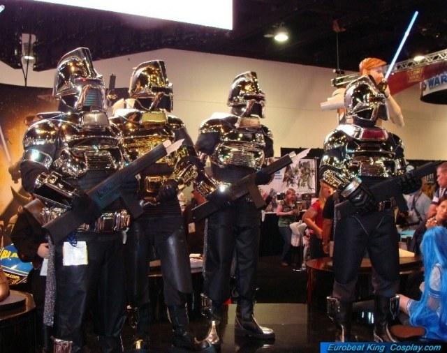 Kropserkel Cylon Centurion Armor Costume