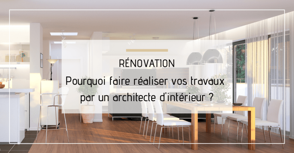 Travaux architecte interieur