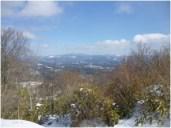 山頂からの大滝根山