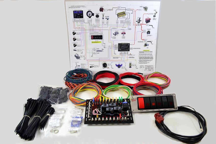 led light bar wiring diagram with relay mercury optimax 150 super duty complete kit k r performance engineering