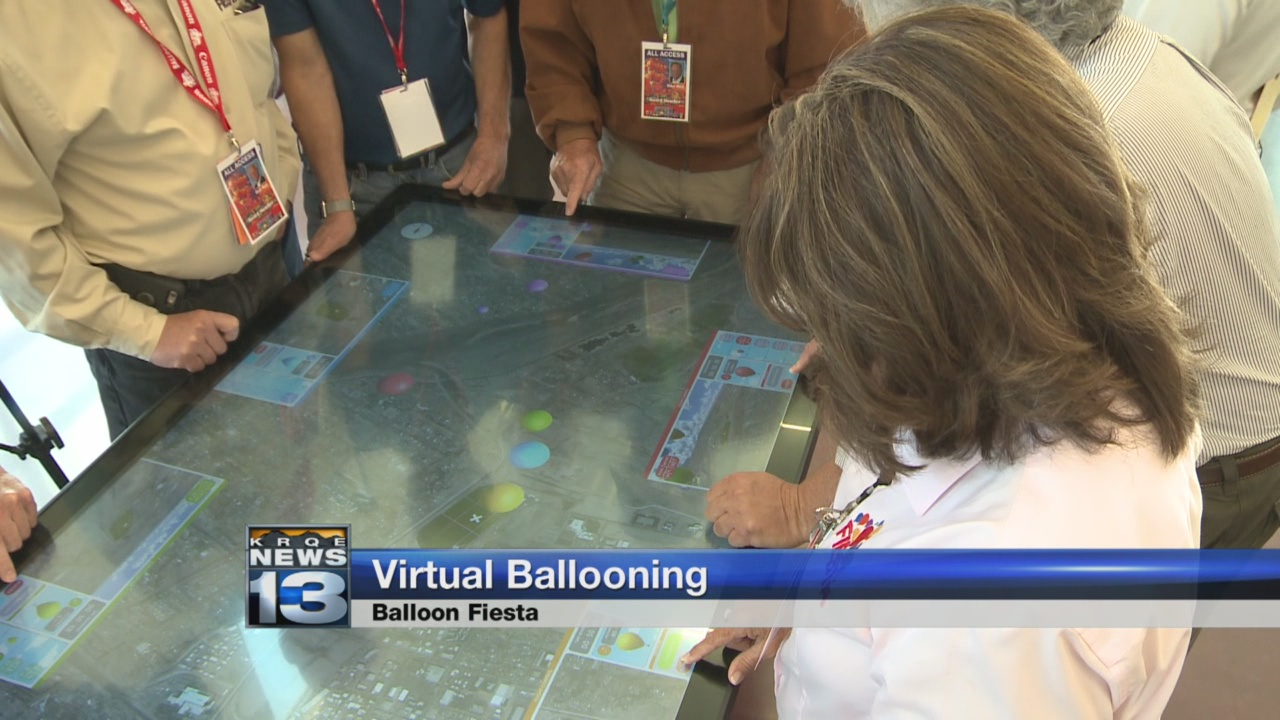 Interactive game showcases ballooning experience_447110