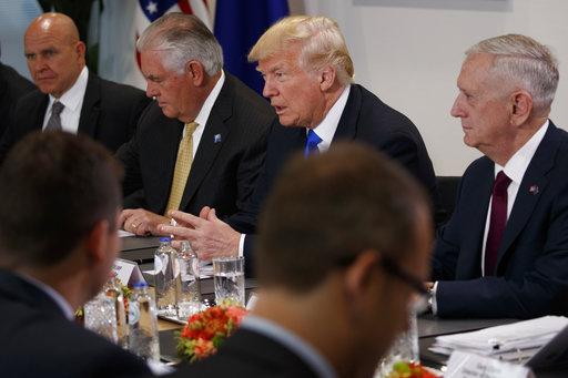 Donald Trump, H.R. McMaster, Rex Tillerson, Jim Mattis_600210