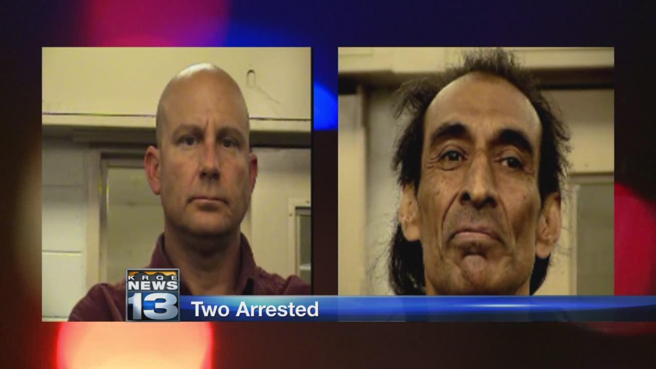 Men Arrested After Police Find Drugs Stolen Vehicles Runaway