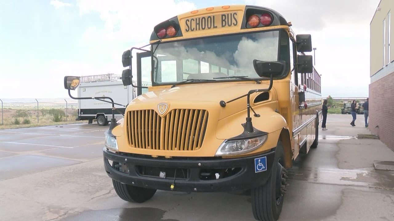 school bus windows shot_694559