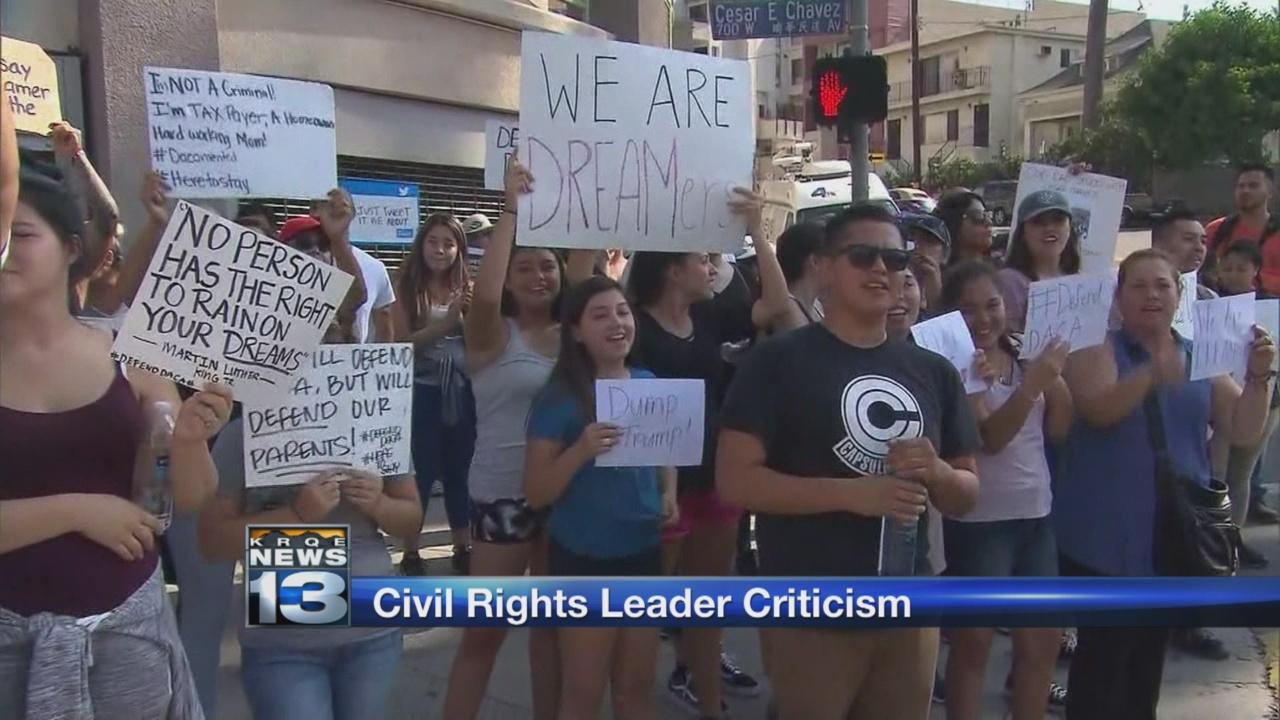 civil rights leader criticism_782470