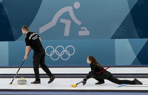 Pyeongchang Olympics Curling_787995