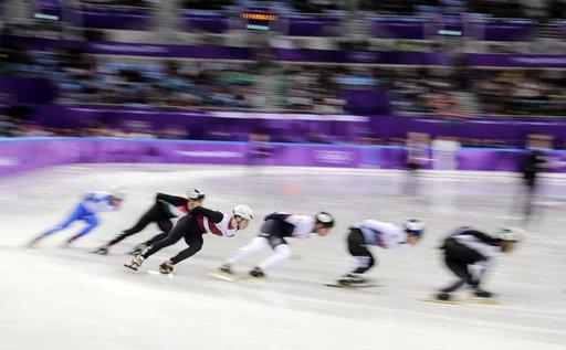 Pyeongchang Olympics Short Track Speed Skating Men_791950