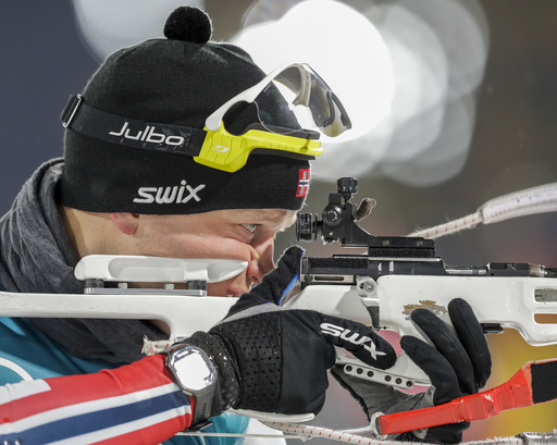 Pyeongchang Olympics Biathlon Men_790783