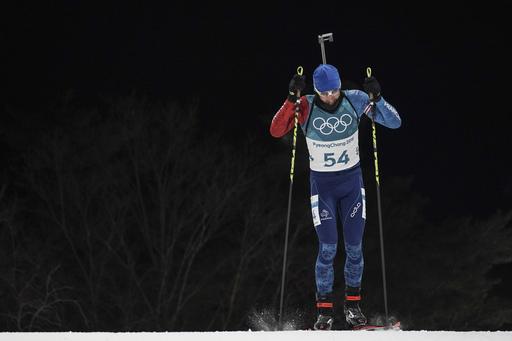 Pyeongchang Olympics Biathlon Men_791433