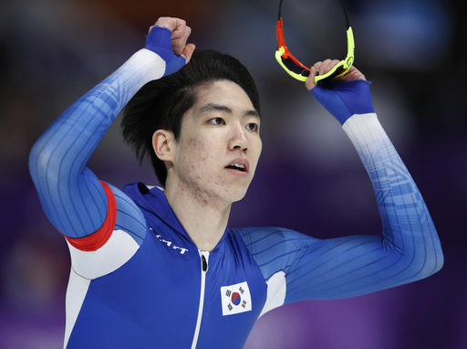 Pyeongchang Olympics Speed Skating Men_797480