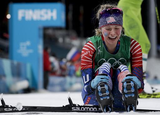 APTOPIX Pyeongchang Olympics Cross Country Women_799128
