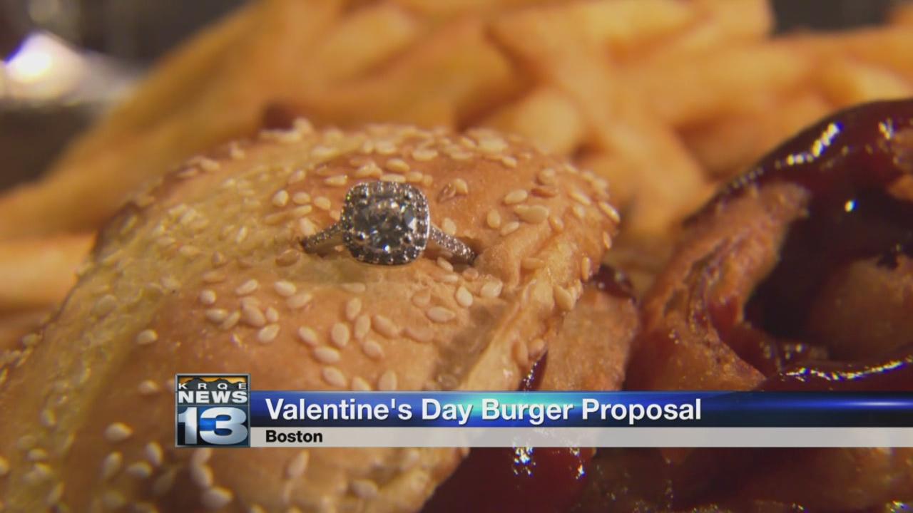 valentine's day burger proposal_787855