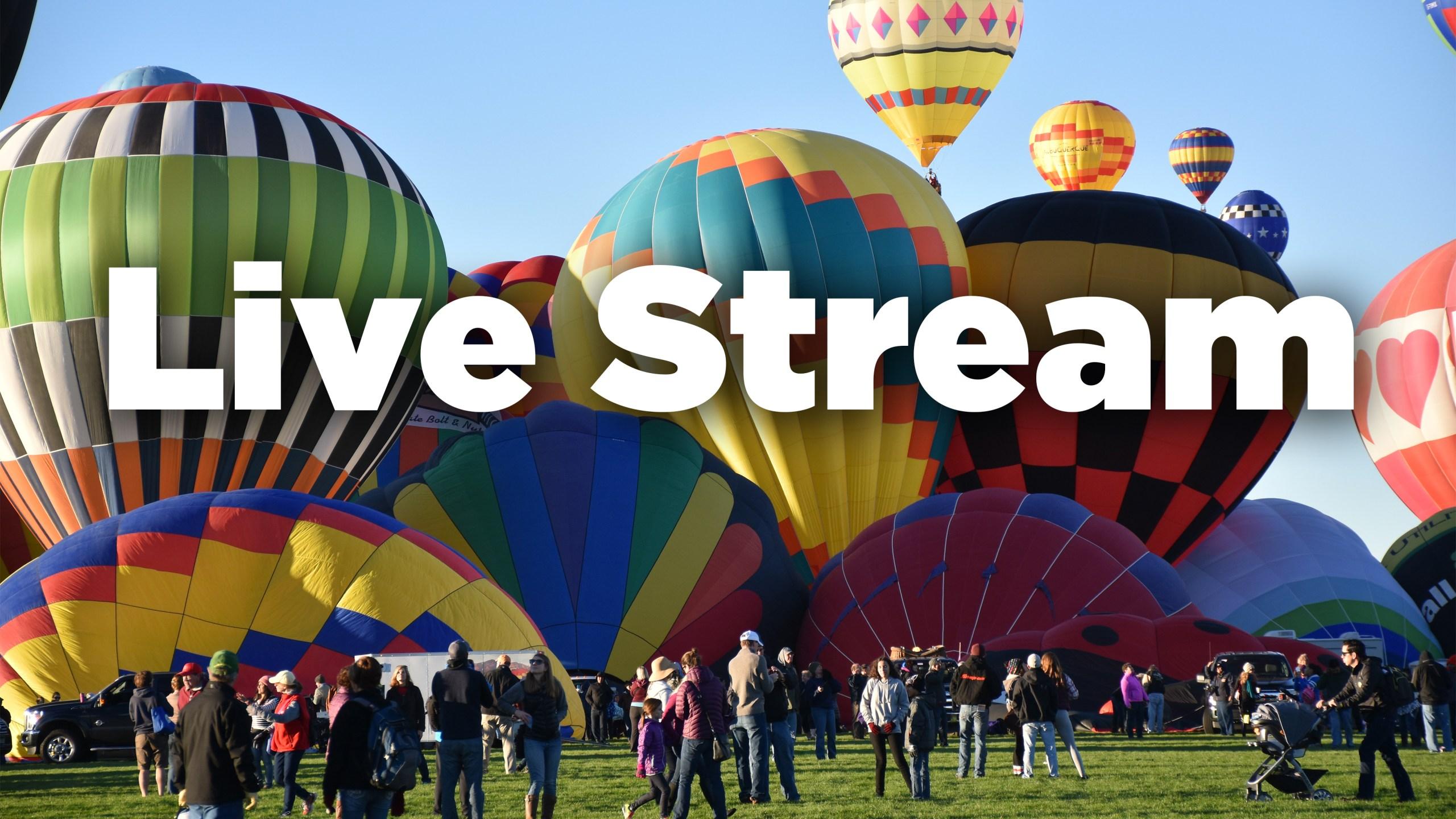 watch live balloon fiesta