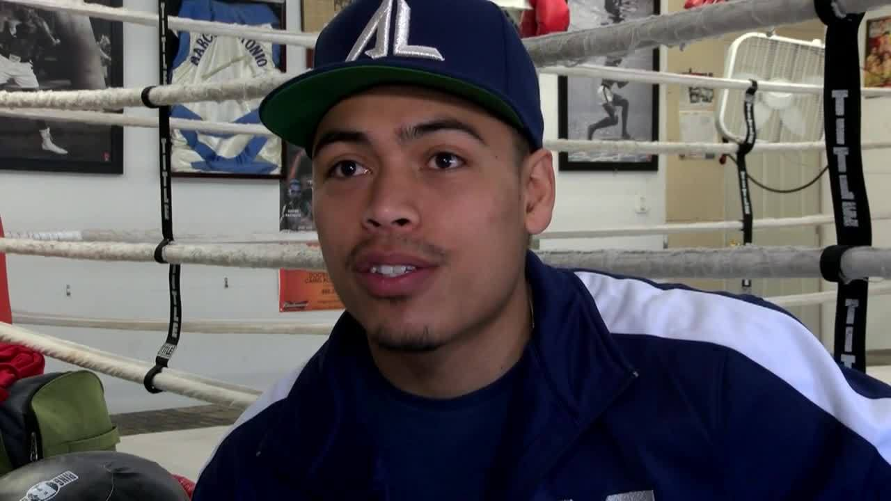 Albuquerque Boxer Angelo Leo remains undefeated after Friday win