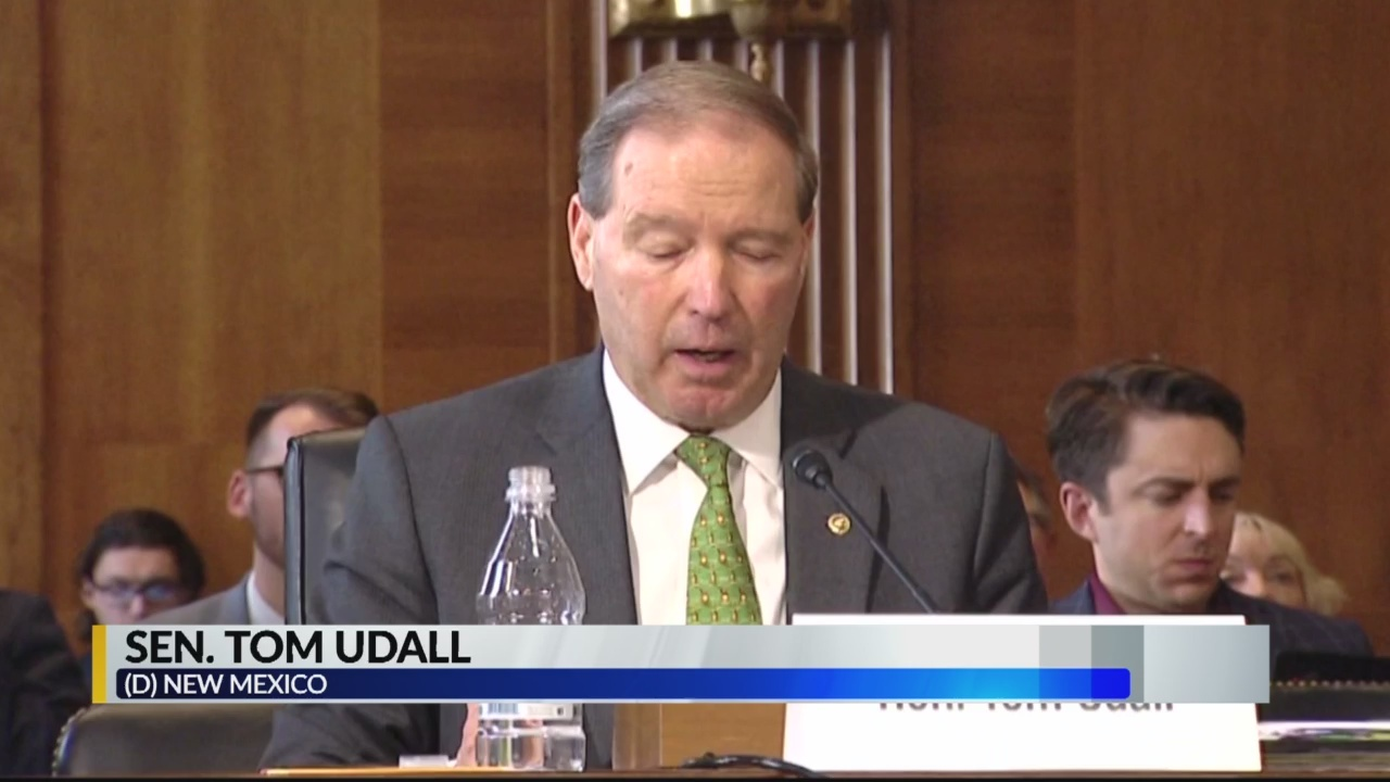 Sen. Udall testifies in support of bill to protect Chaco Canyon