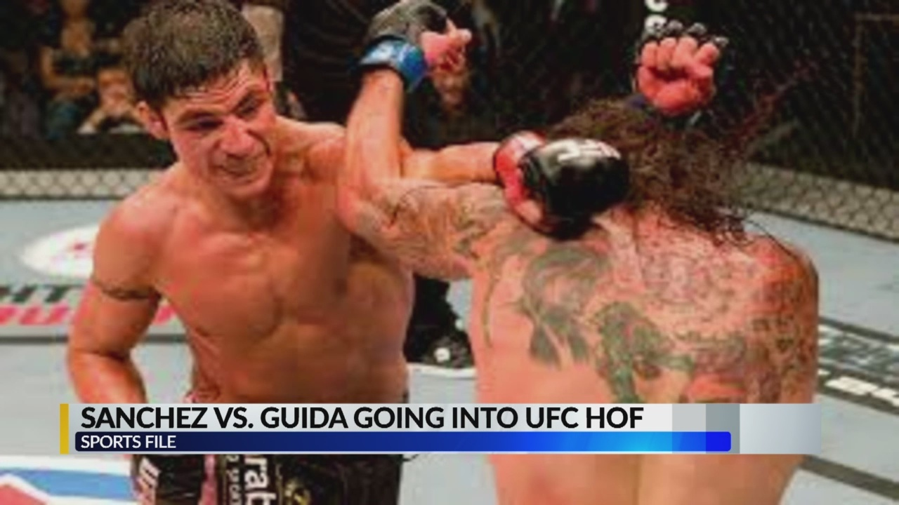 Sports Desk: Diego Sanchez and Clay Guida's 2009 fight going into UFC Hall of Fame
