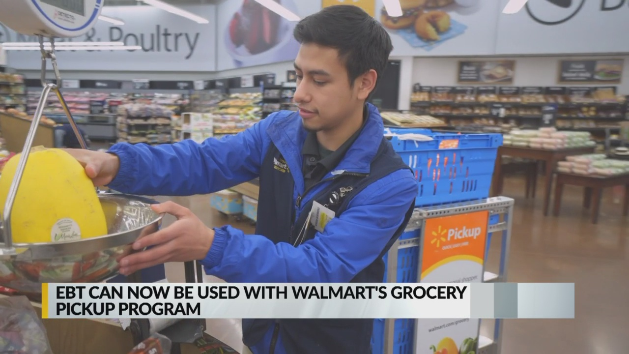 Walmart To Accept Snap Payments For Online Grocery Pickup