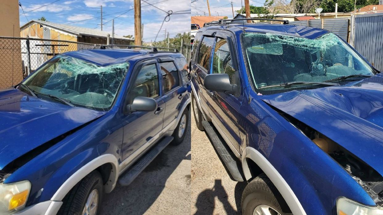 Image result for Antonio Basco's SUV was stolen and wrecked a day after he buried wife killed in El Paso shooting