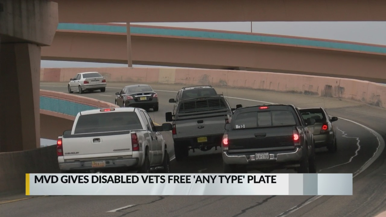 New Mexico Motor Vehicle Division Albuquerque Nm >> Mvd Gives Disabled Veterans Free Any Type Plate Krqe News 13