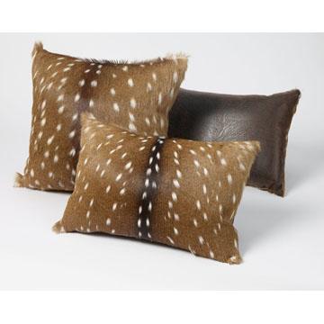 Axis Deer Rectangle Pillow  King Ranch Saddle Shop
