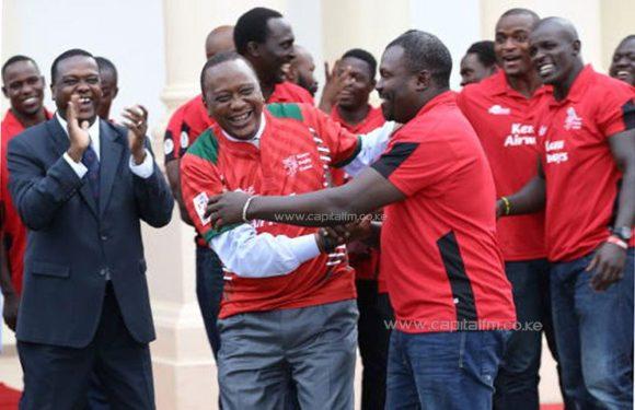 President Kenyatta Leads Kenyans In Mourning Rugby Icon Benjamin Ayimba
