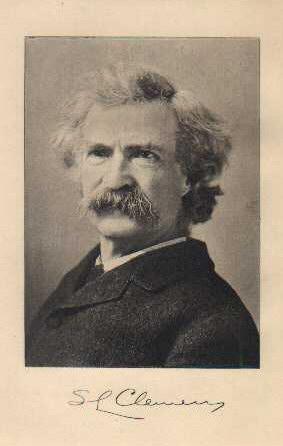 Mark Twain - Samuel Clemens Signature