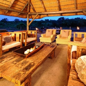 Jock Safari Lodge Outdoor Lounge