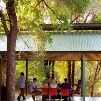 Khoka Moya Camp Dining